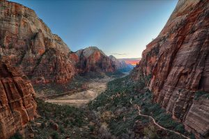 Watch the experience of staying at Cable Mountain Lodge in Zion National Park