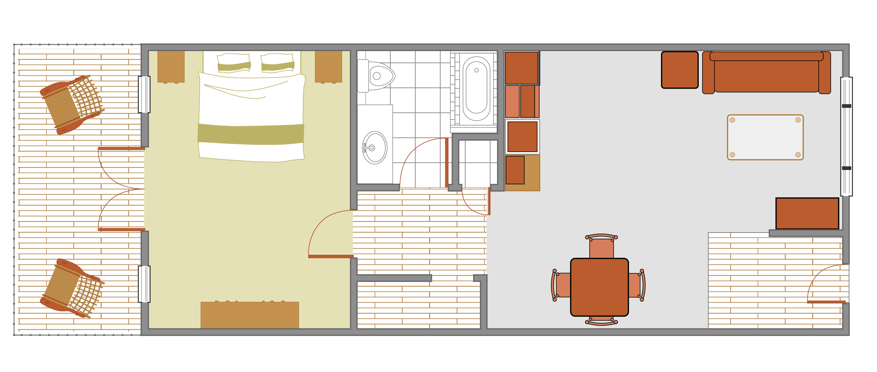 Springdale Center Suites Floor Plan