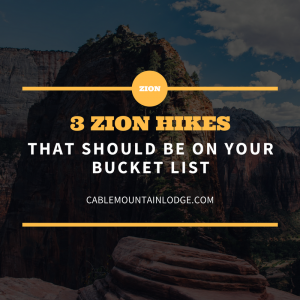 zion hikes