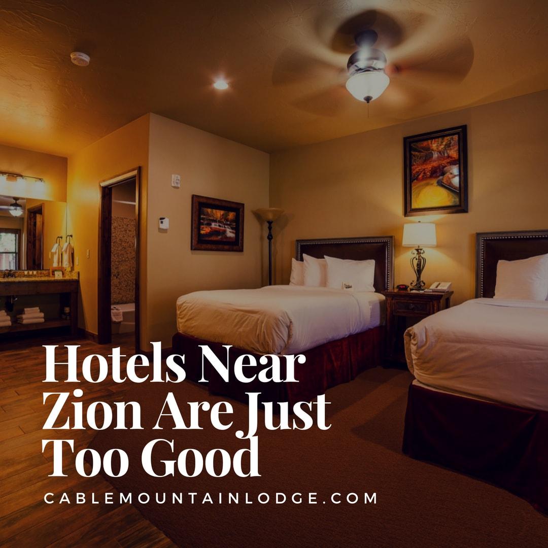 hotels near zion