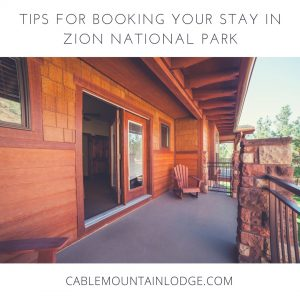 lodging in zion