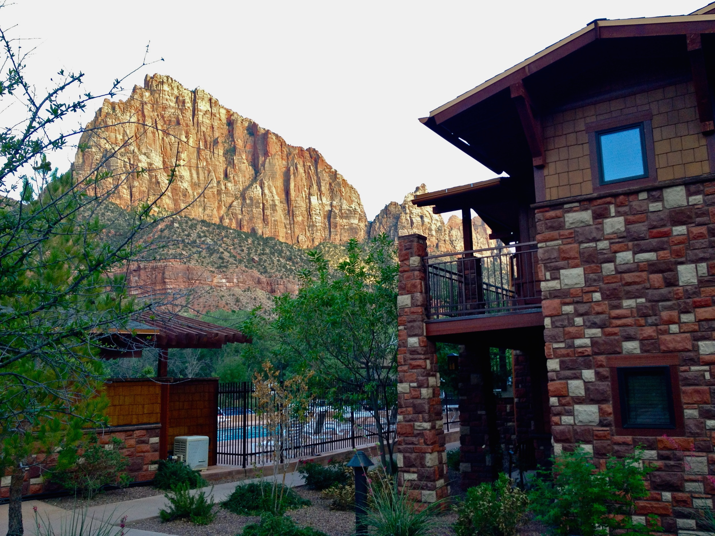 lodging at zion national park