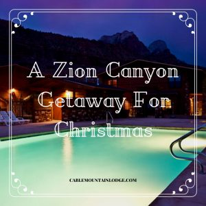 zion canyon lodge